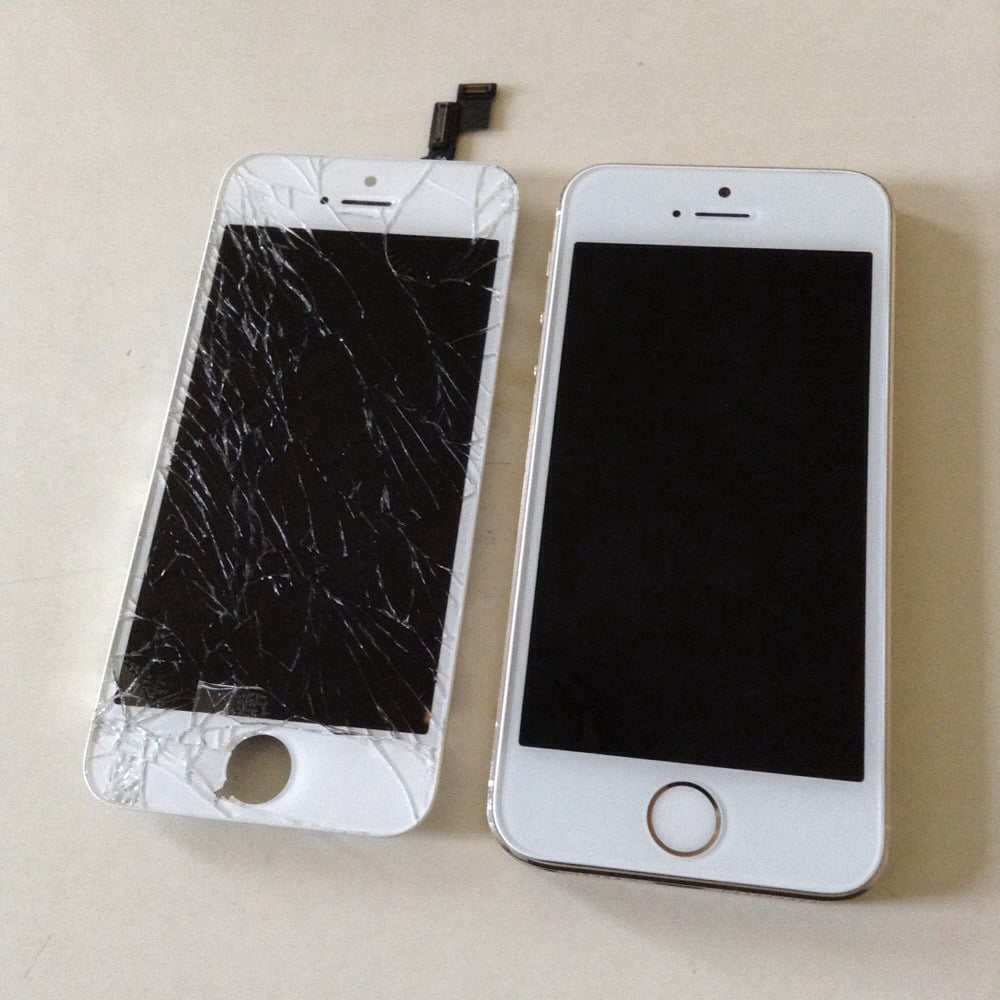 IPhone 5S -- Before And After.