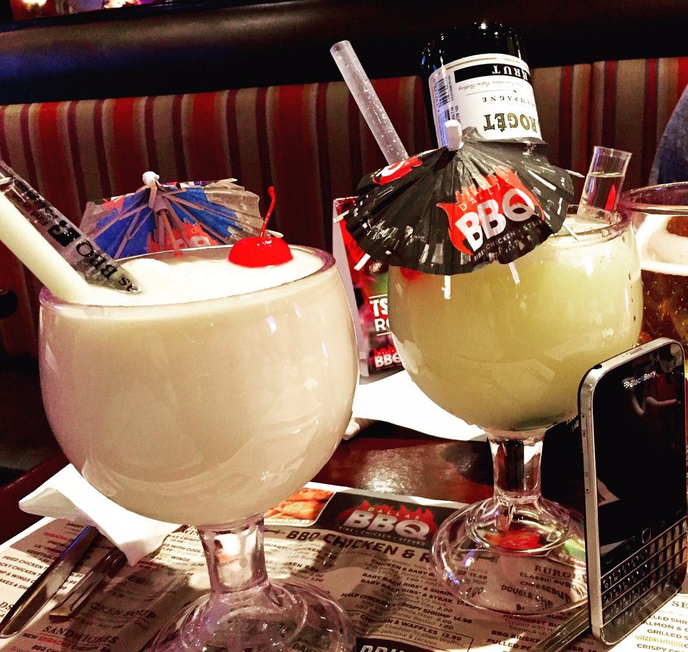 Drinks At Dallas Bbq Were Big Fun And Added To The