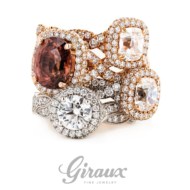 """Would You Say """"Yes"""" To A French Pave Cut Diamond Ring?"""