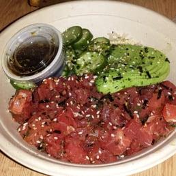 Photos for seasalt fish grill yelp for Fish me poke menu