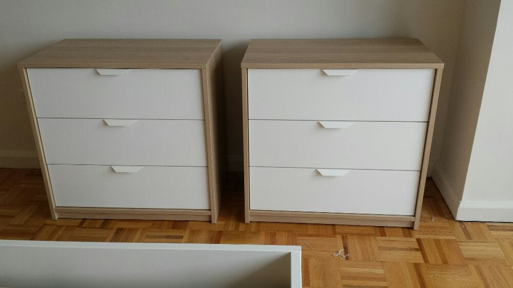 New Year S Eve 2015 Ikea Askvoll 2 Drawer Units Assembly