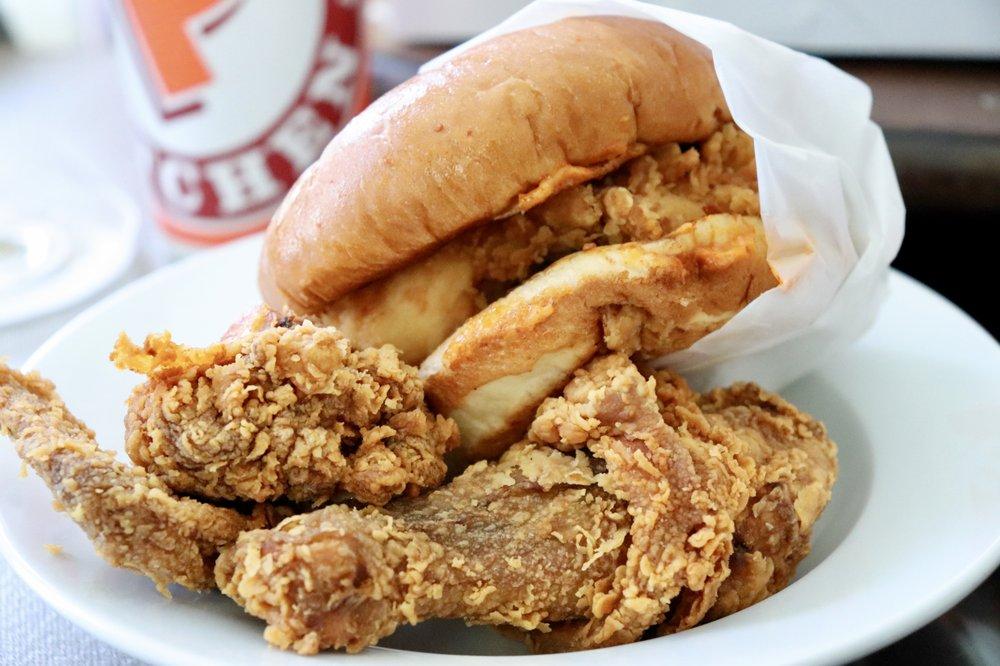 Popeyes Louisiana Kitchen: 9744 Lower Azusa Rd, El Monte, CA
