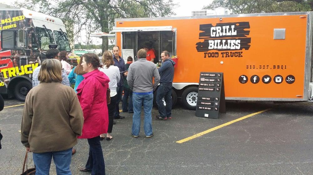 Grill Billies Food Truck: 999 Woodward, Detroit, MI