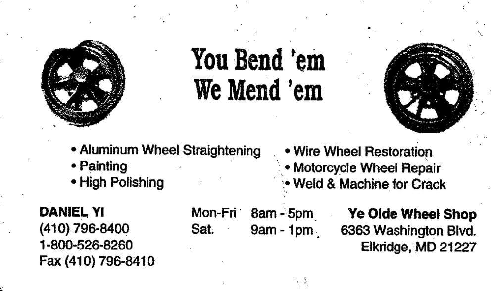 Ye Old Wheel Shop