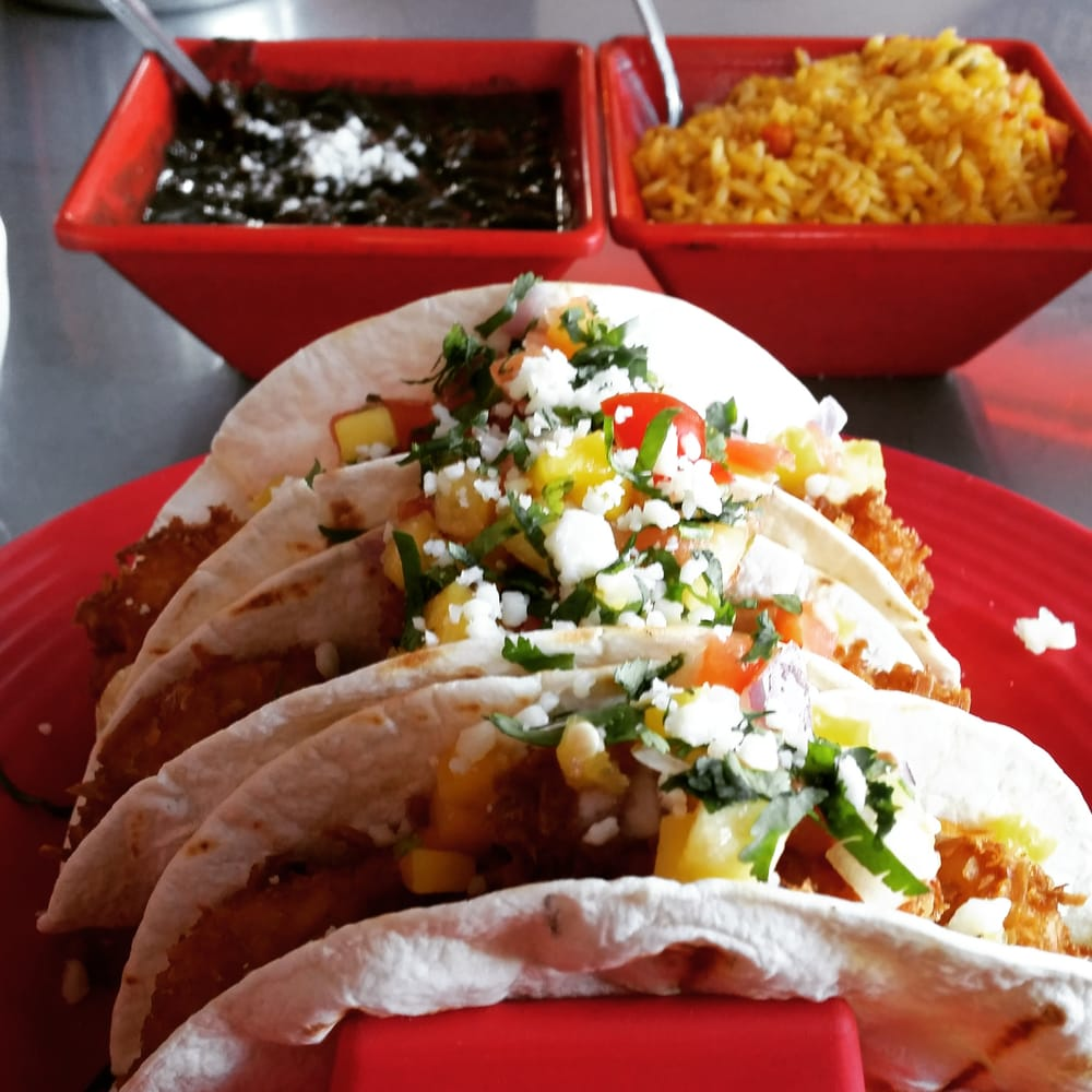scrumptious coconut shrimp tacos with mango salsa delish. Cars Review. Best American Auto & Cars Review