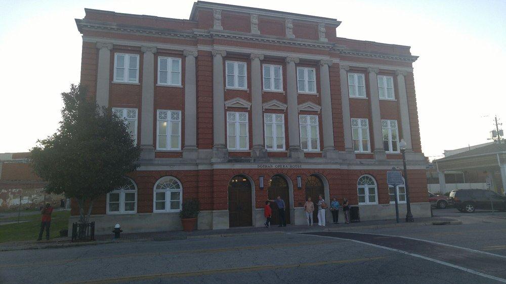 Dothan Opera House: 115 N St Andrews St, Dothan, AL