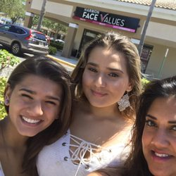 You'll love this retail establishment! Harmon Face Values is located in Jupiter, in a plaza next to Publix and Einstein Bagels. The cross street is Indian town road and Alt A1A.