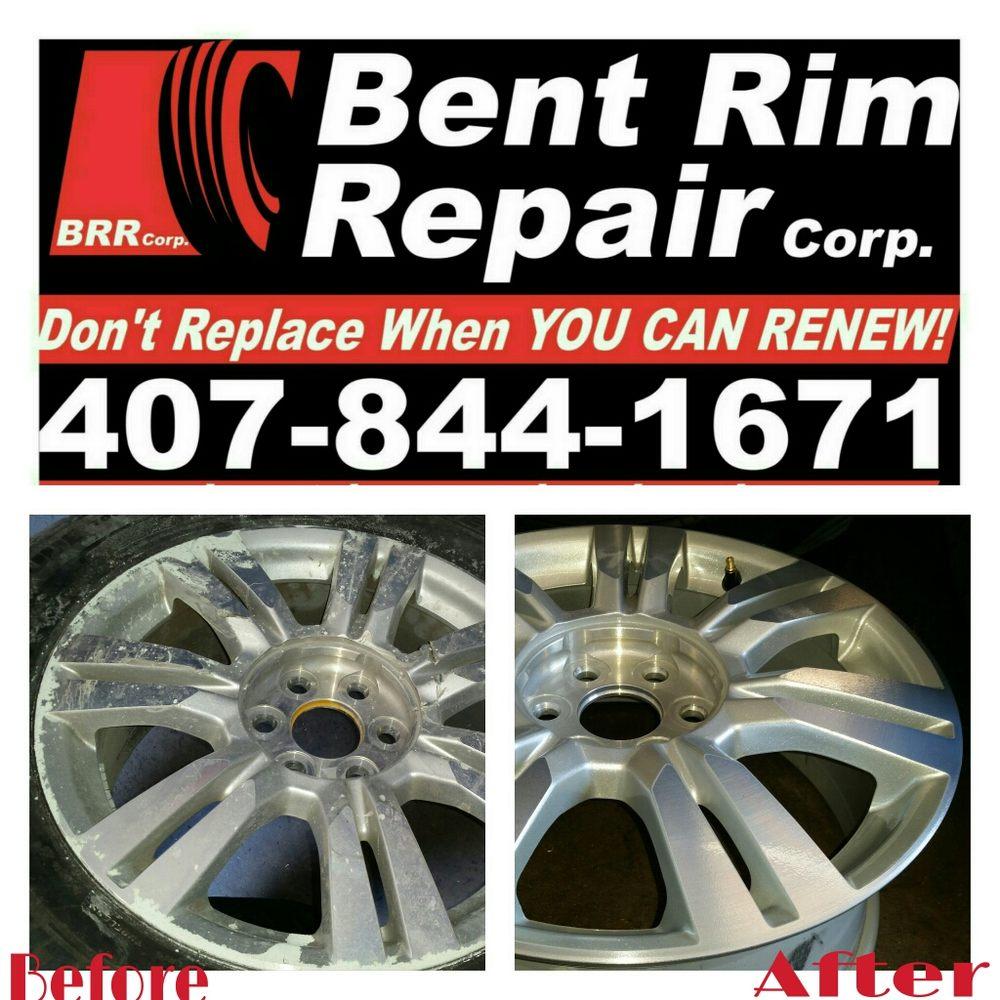 Bent Rim Repairs: 7145 S Orange Blossom Trl, ORLANDO, FL