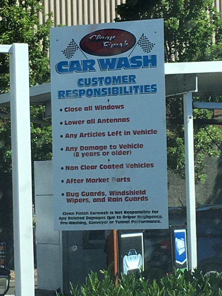 Clean Finish Car Wash Olympia Wa