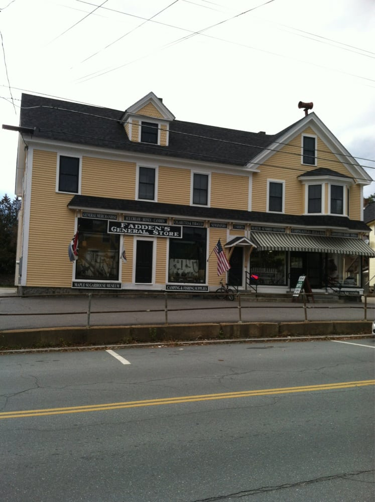 Fadden's General Store: 109 Main St, North Woodstock, NH