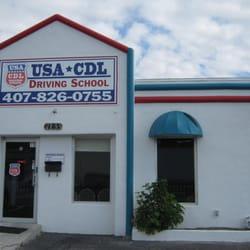 Usa Cdl Driving School Corp Driving Schools 7133 S Orange Ave