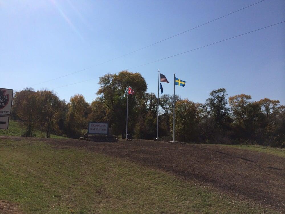 Runestone Park Barn: 8755 County Road 103 SW, Kensington, MN