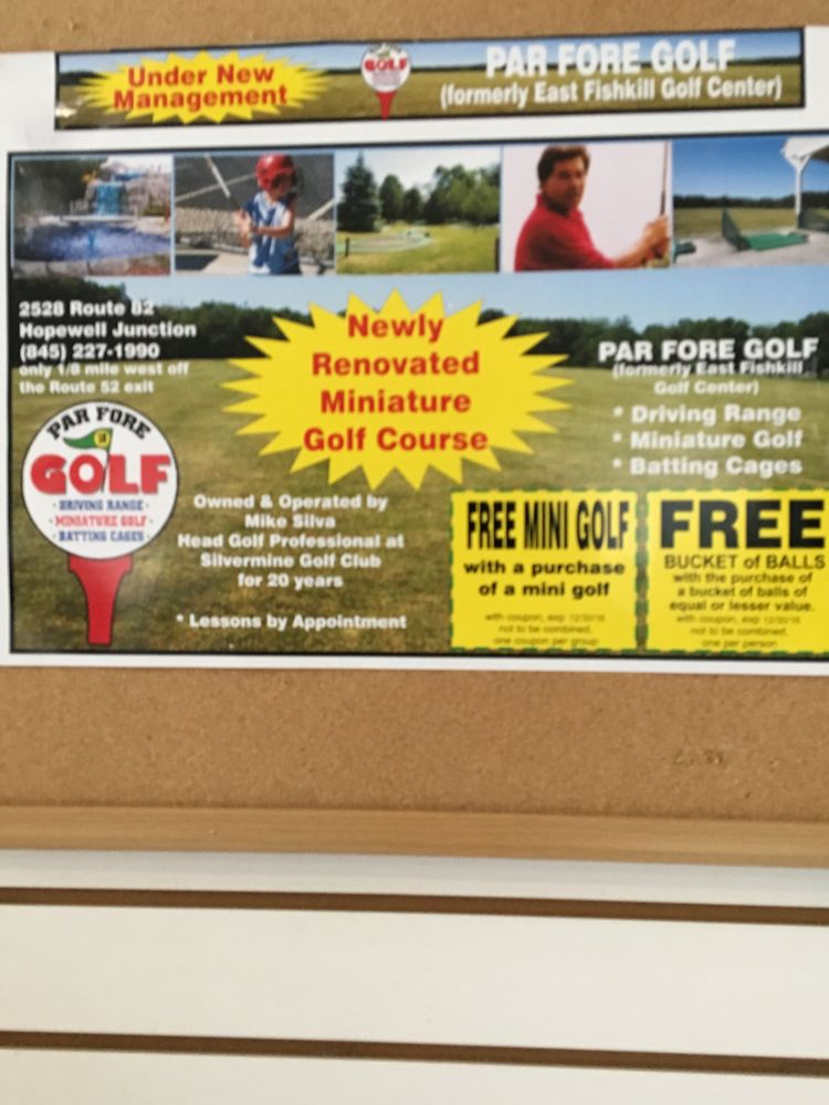 Par Fore Golf Center: 2528 Route 52, Hopewell Junction, NY