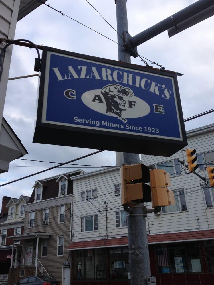 Lazarchick's Cafe: 476 Sunbury St, Minersville, PA