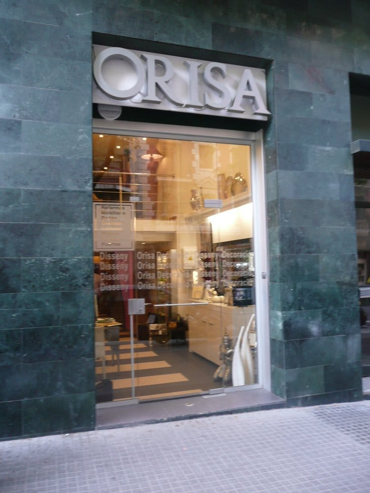 orisa magasin de meuble carrer d 39 enten a 198 l 39 eixample barcelone barcelona espagne. Black Bedroom Furniture Sets. Home Design Ideas