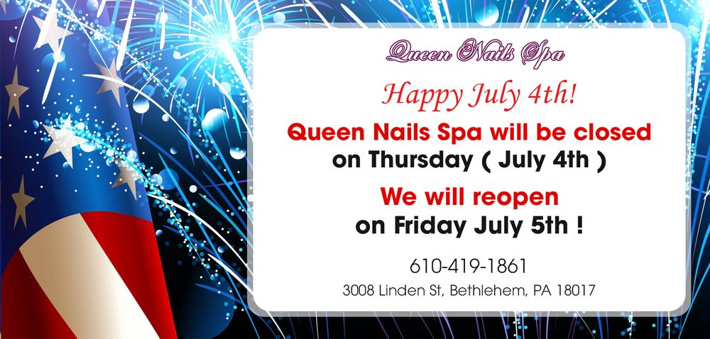 Queen Nails Spa: 3008 Linden St, Bethlehem, PA