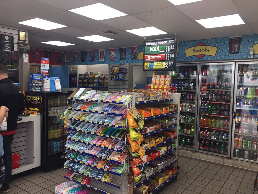 Inside The Convenience Store At The Gas Station Yelp