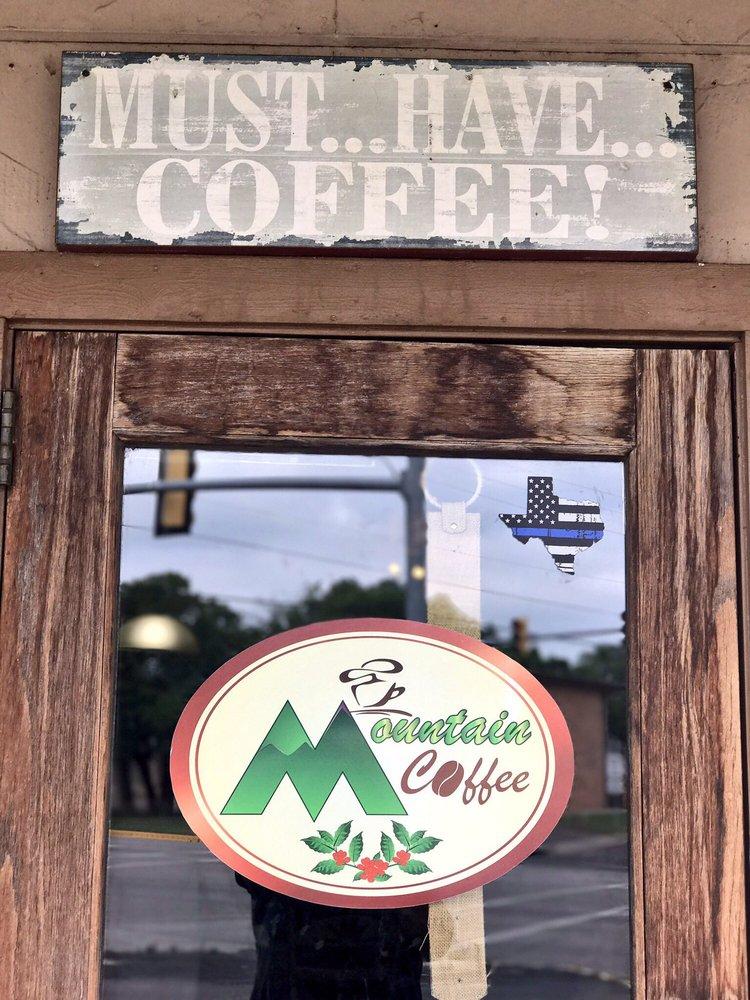 Mountain Coffee Shoppe: 101 Old Betsy Rd, Keene, TX
