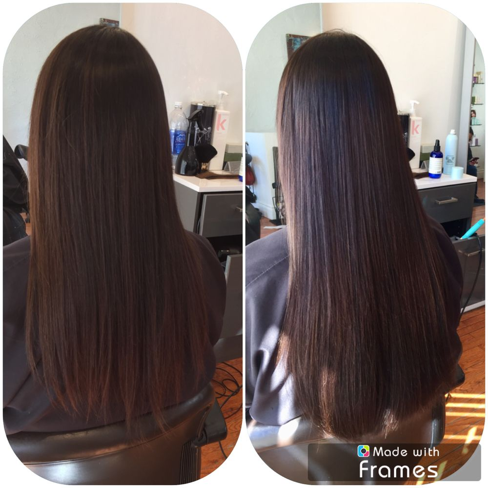 18 20 Inches Hotheads Hair Extensions Adding Length And Thickness