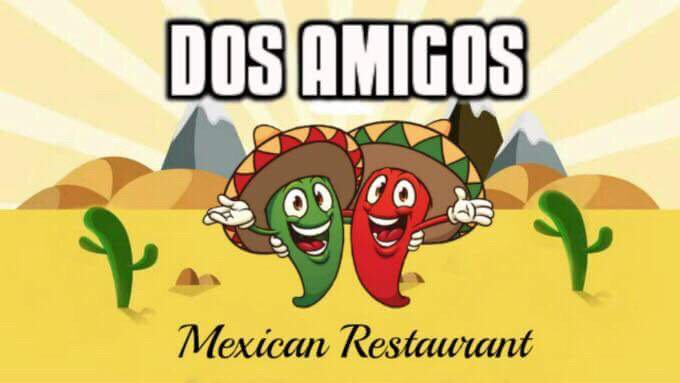 Food from Dos Amigos