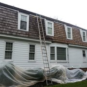 Cedar Roof Cleaning Photo Of Veteran Roof Treatment   Louisa, VA, United  States.