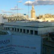 La Terraza Del Hotel Inglaterra Tapas Bars Plaza Nueva
