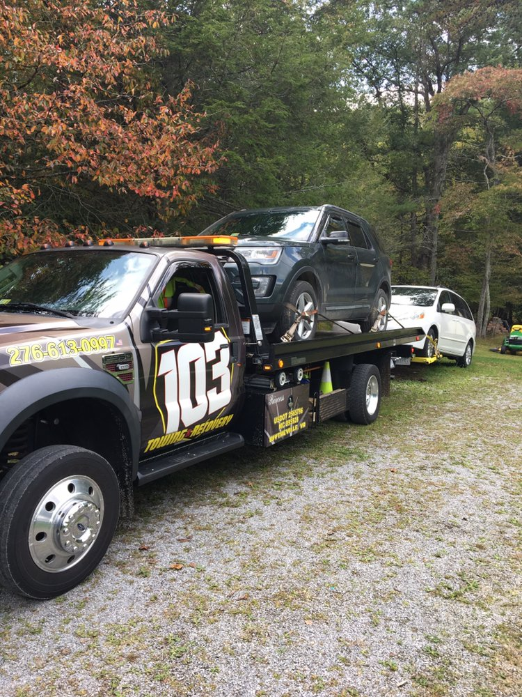 103 Towing & Recovery: 150 W Railroad Ave, Wytheville, VA