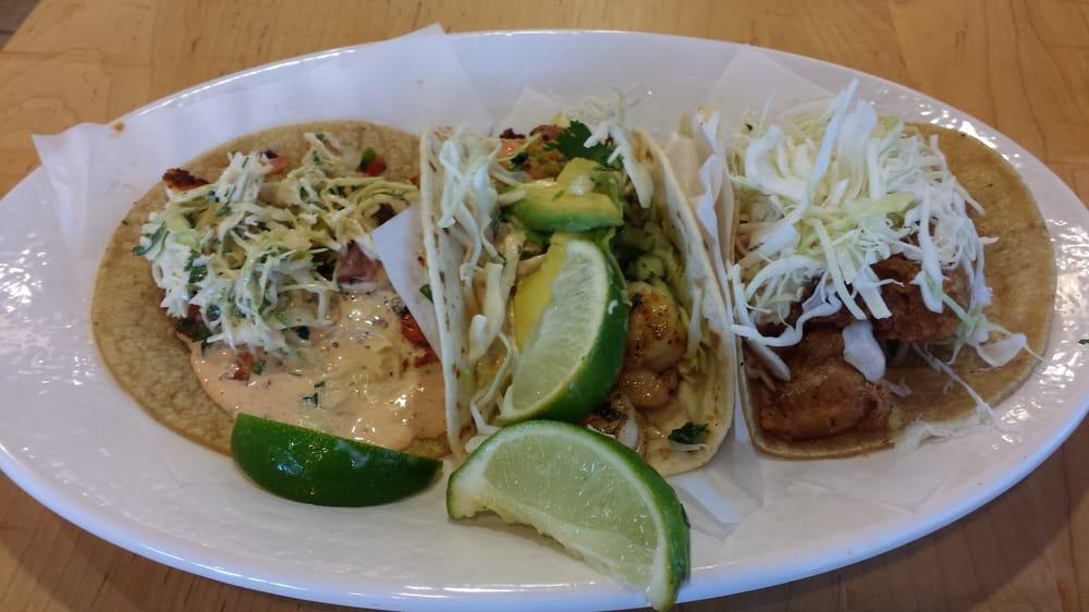 Coastal trio chose blackened tilapia instead of grilled for Rubio s coastal grill the original fish taco
