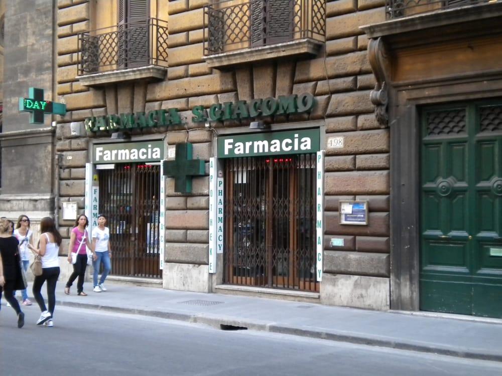 Farmacia San Giacomo - Parafarmacie - Via del Corso 498