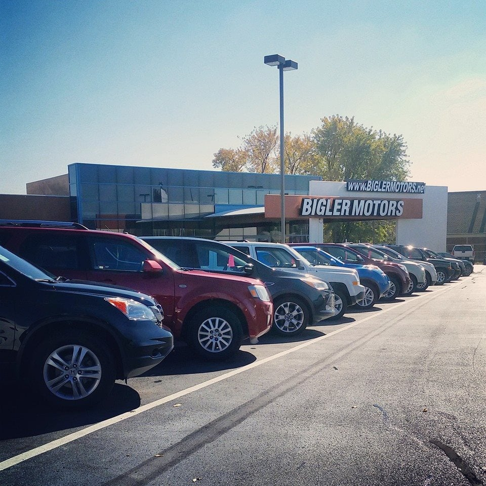 bigler motors car dealers 6341 n 28th st lincoln ne