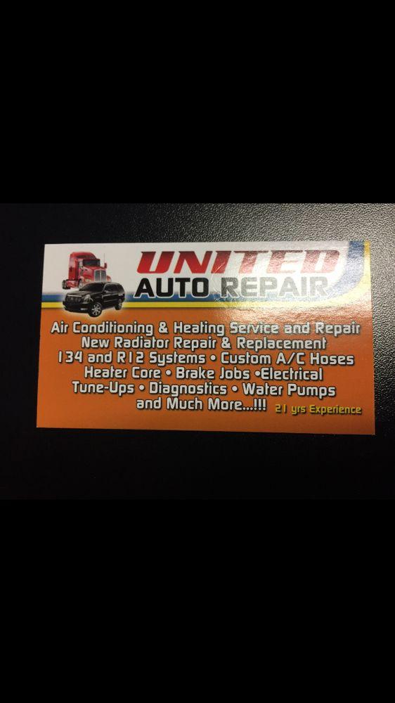 United Auto Air & Heating - Auto Repair - 16701 Walnut St