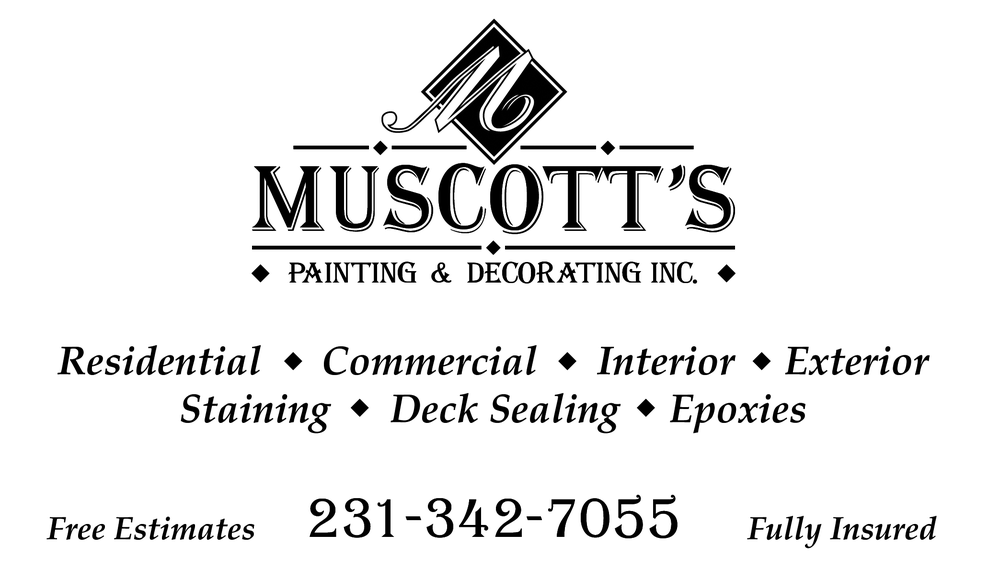 Muscott's Painting & Decorating: 5964 Graham Rd, Petoskey, MI