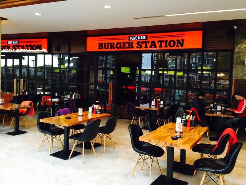 The Burger Station: Atlantis AVM, Ankara, 06