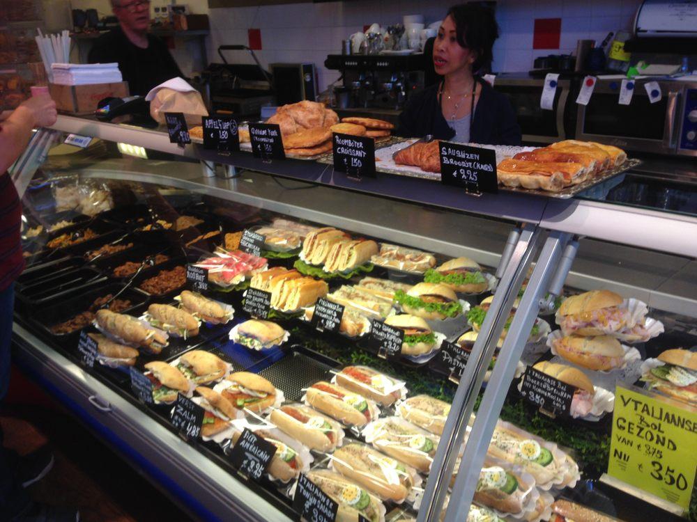 Lunchroom Breedeveld , Sandwichs , Weena 678, Rotterdam