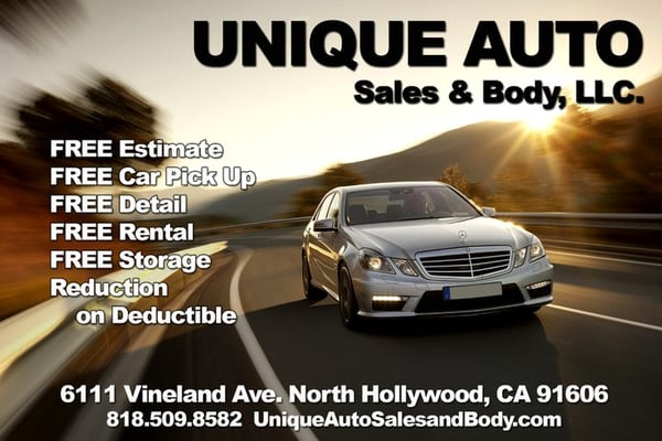 Unique Auto Sales >> Unique Auto Sales Body Body Shops 6111 Vineland Ave North