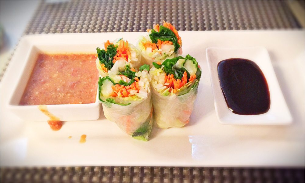 Food from Moon River Thai