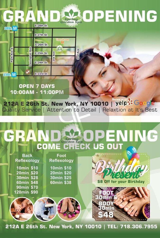 Spring Garden Spa 6: 212 E 26th St, New York, NY