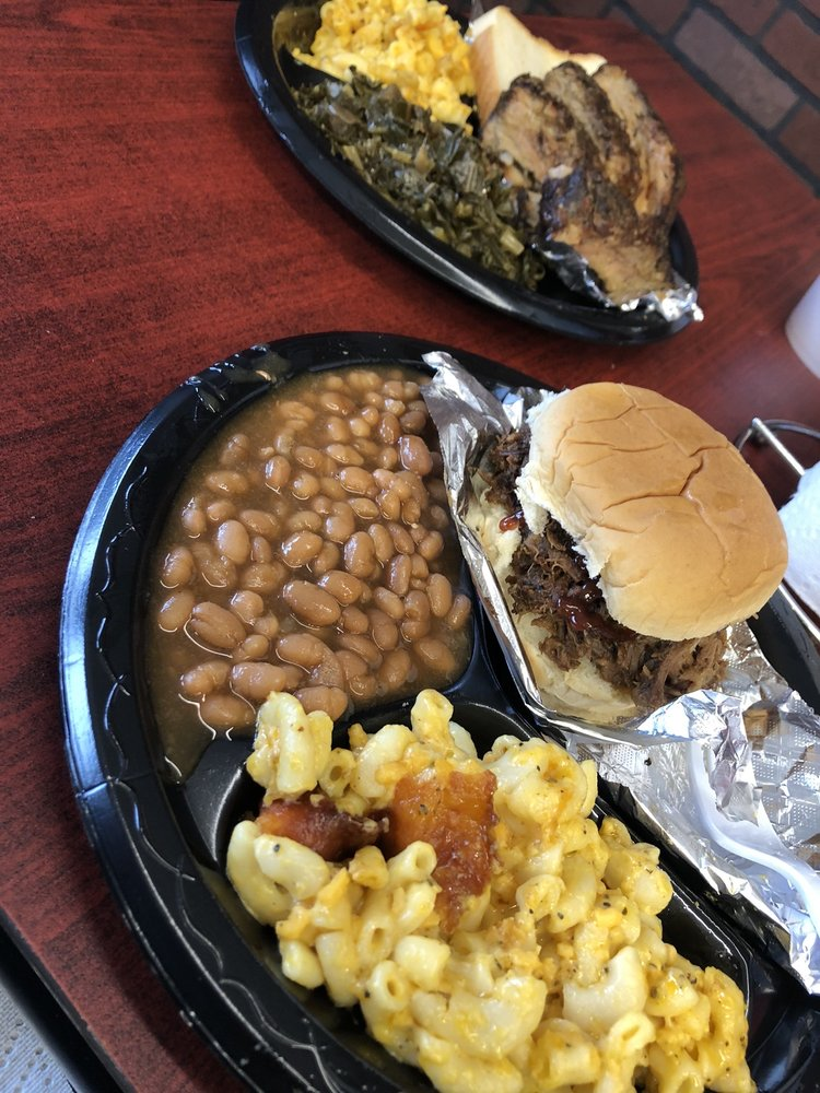 Food from Dawg Gone Good BBQ