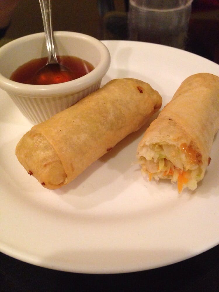 Egg roll appetizer with plum sauce yelp for At siam thai cuisine