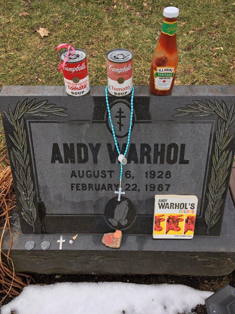 Andy Warhol's Grave: 117 Sandusky St, Pittsburgh, PA