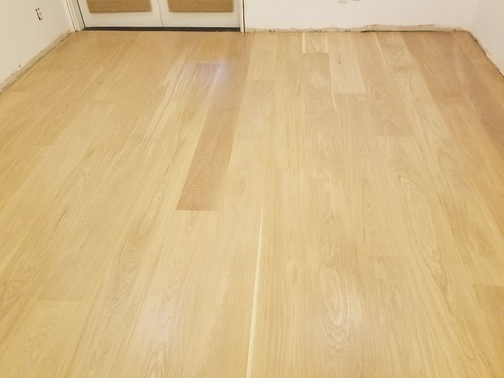 Golden Hardwood Floor