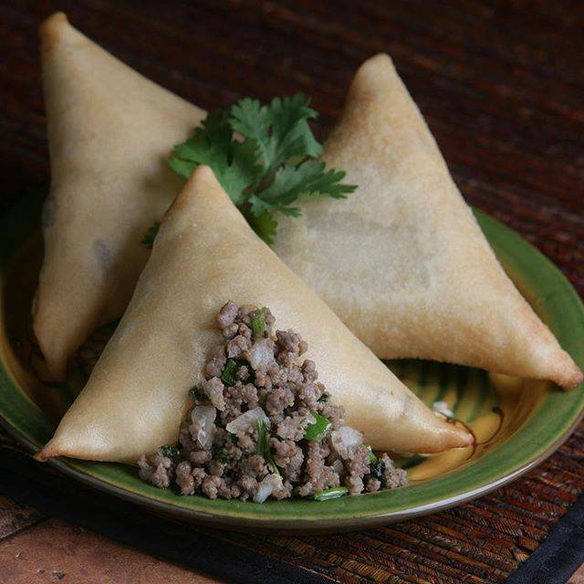 Food from Samosa Supreme