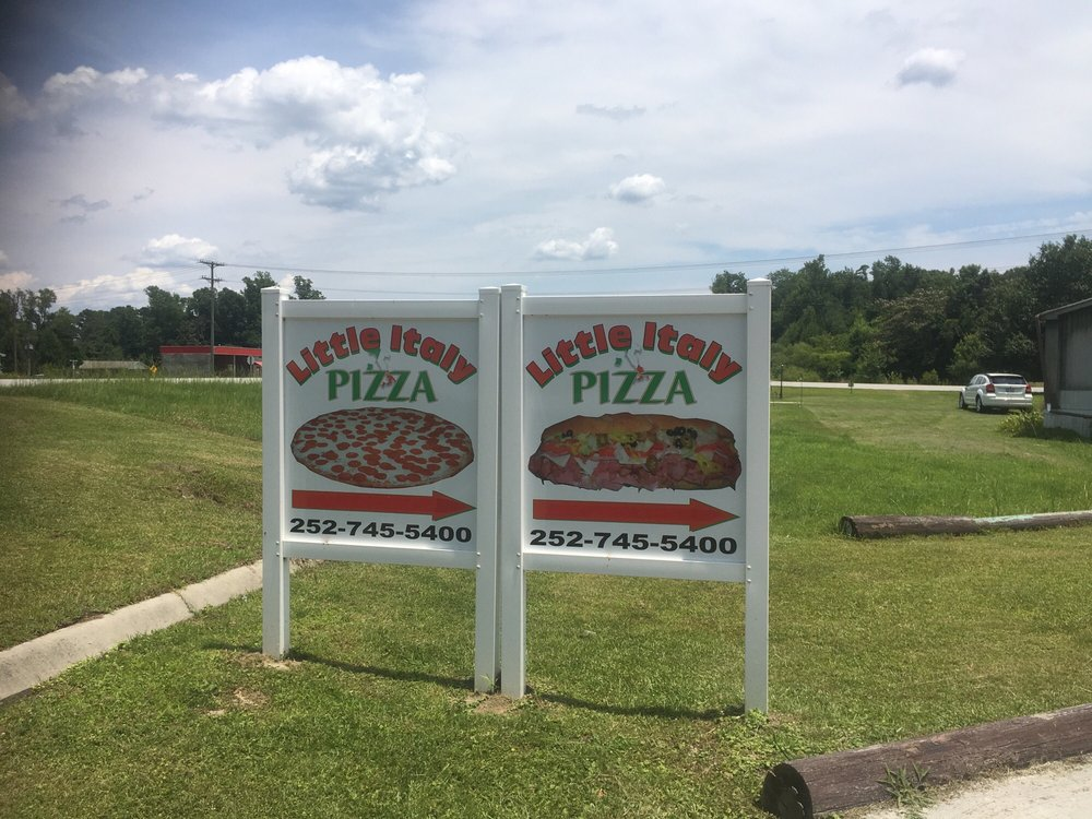 Little Italy Pizza & Subs: 12268 Highway 55 E, Grantsboro, NC