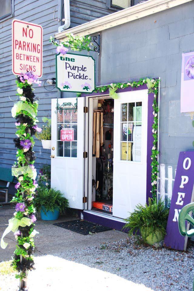 The Purple Pickle: 100 Market St, Kimmswick, MO
