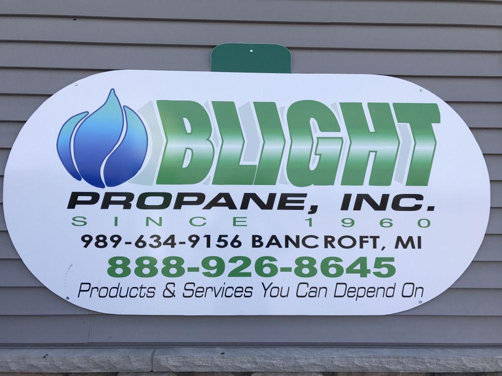 Blight Oil & Propane: 4530 E Lansing Rd, Bancroft, MI