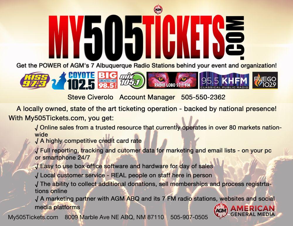 My 505 Tickets