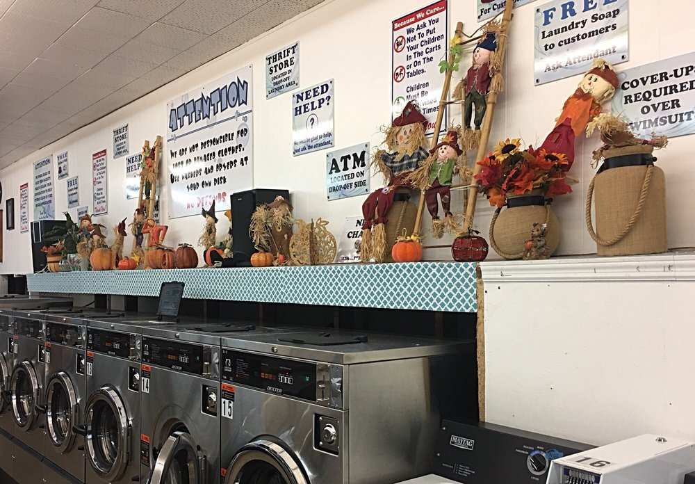 Cape Laundry & Dry Cleaners: 7814 N Atlantic Ave, Cape Canaveral, FL