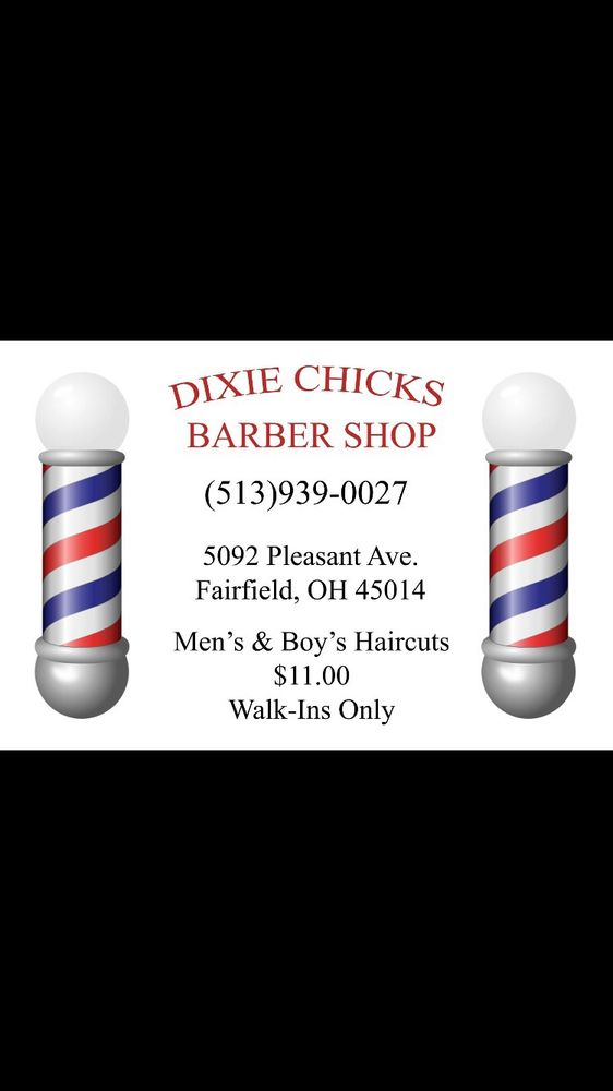 Dixie Chicks Barber Shop: 5092 Pleasant Ave, Fairfield, OH