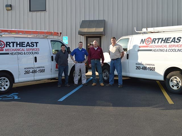 Northeast Mechanical Services: 3517 Focus Dr, Fort Wayne, IN