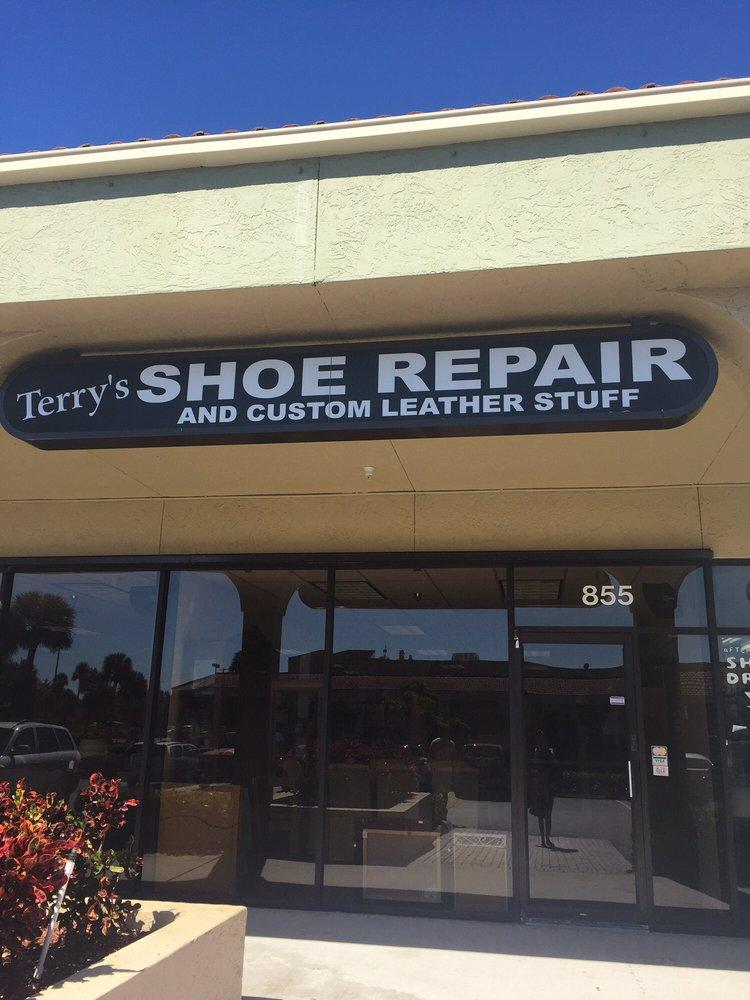 Terry's Shoe Repair: 853 Donald Ross Rd, Juno Beach, FL